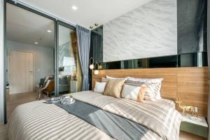 For RentCondoWitthayu,Ploenchit  ,Langsuan : Rental : Life One Wireless Condo , 35 sqm , 1 Bed 1 Bath , 17 th Floor