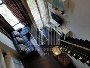 For SaleCondoSukhumvit, Asoke, Thonglor : 🔥🔥 Urgent sale Ideo Morph 38 1 bedroom Duplex garden view price 8 MB.
