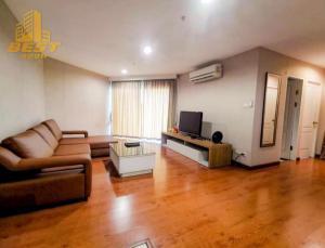 For RentCondoRama9, RCA, Petchaburi : Condo for rent, Bell Rama 9 (Belle Rama 9), 2 bedrooms, 1 bathroom, 1 kitchen, size 70 sqm., 21st floor, price 28,000 baht