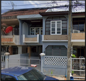 For SaleTownhouseLadprao101, The Mall Bang Kapi : Townhouse for sale, Happy Land, 2 floors, 26 sq m, width 6 m.
