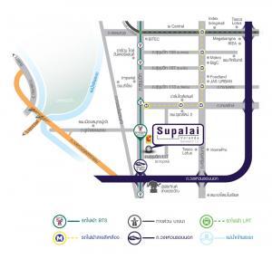 ขายดาวน์คอนโดสำโรง สมุทรปราการ : ขายห้อง President Suit มีแค่ห้องเดียวของโครงการ Supalai Veranda