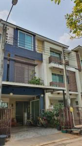 For SaleTownhouseRama3 (Riverside),Satupadit : Townhome for sale, Thanapat House project, 3 floors, Soi Nonsi 20, size 23 sq m. Fully furnished.