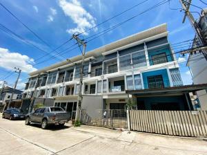 For SaleShophouseRangsit, Patumtani : Commercial buildings for sale: In Town Tiwanon Chaengwattana (064-6654666)