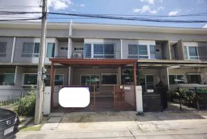 For RentTownhouseRathburana, Suksawat : Townhouse for rent, 18 sq.wa., 2 floors, 2 bedrooms, 3 bathrooms, Indy Village 1, Pracha Uthit 90- ER-210133.