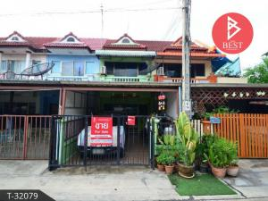 For SaleTownhouseSamrong, Samut Prakan : Townhouse for sale Badiphat 2 Village, Phraeksa, Samut Prakan