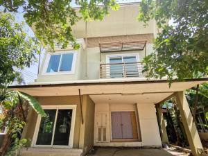 For SaleHouseRangsit, Patumtani : Single house for sale, Discovery Balika Rangsit-Klong 4) 3 bedrooms, 3 bathrooms. If interested, contact 096-149-5654.