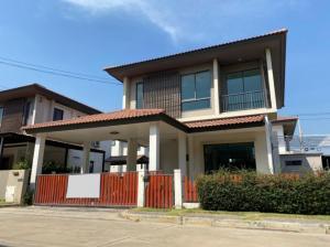 For SaleHouseNawamin, Ramindra : House for sale, Habitia Orbit Hathairat, 2 floors, 3 bedrooms, 2 bathrooms. If interested, contact 096-149-5654.