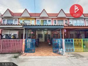 For SaleTownhouseSamrong, Samut Prakan : 2 storey townhouse for sale, Chutima, Phraeksa, Samut Prakan.