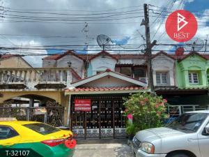 For SaleTownhouseRangsit, Thammasat, Patumtani : Townhouse for sale in Rinthong, Lam Luka-Khlong 2, Pathum Thani.