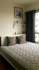For RentCondoRattanathibet, Sanambinna : For rent Lumpini Park Rattanathibet - Ngamwongwan 💫 corner room ❣ furniture decoration complete electrical appliances Ready to move in 💥 There is a washing machine.