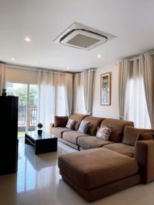 For RentHouseSamrong, Samut Prakan : For rent, Baan Passorn Pride Srinakarin-Nam Daeng (Passorn), beautiful new house, fully furnished 🏡