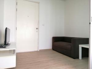 For RentCondoBangbuathong, Sainoi : Condo for rent, new room, plum condo, Bang Yai station, 23 sqm., Building D, 7th floor, fully furnished and electrical appliances Ready to move in..