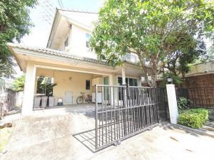 For RentHouseRama 2, Bang Khun Thian : RHT507 for rent 2 storey detached house, behind the corner of Phruek Lada Village 2, Tha Kham, Rama 2