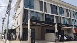 For RentTownhouseRama5, Ratchapruek, Bangkruai : For rent townhome Patio Rama5-Sirindhorn. near Lotus Nakhon In Nice house in the corner