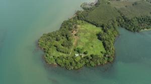 For SaleLandTrat : Seafront Land Plot for sale at Laem Ngob, Trat Thailand 37 RAIS AN164