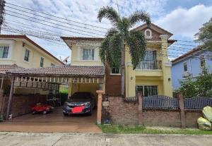 For SaleHousePinklao, Charansanitwong : 2 storey house for sale, Thanasiri Pinklao project, Ratchaphruek project 1