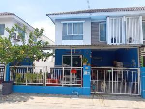 ขายทาวน์เฮ้าส์/ทาวน์โฮมสำโรง สมุทรปราการ : ขายด่วน บ้านทาวน์โฮมพฤกษาวิลล์38/1 (กิ่งแก้ว-หนามแดง) ใกล้ตลาด 3นอน 2น้ำ 24 ตรว. ต่อเติมครบ