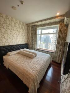 เช่าคอนโดพระราม 9 เพชรบุรีตัดใหม่ : NAI442 ให้เช่า คอนโด Circle Condominium ใกล้ MRT เพชรบุรี ชั้น 25