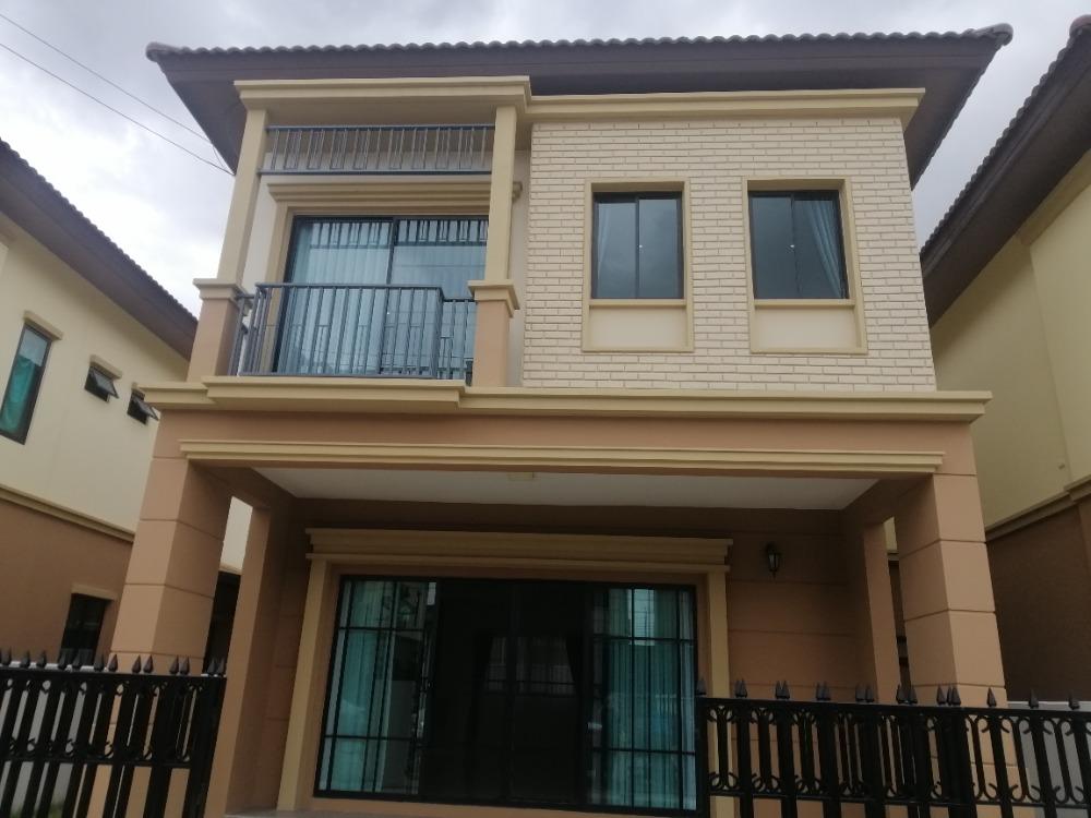 เช่าบ้านมีนบุรี-ร่มเกล้า : ให้เช่า บ้านแฝด2ชั้น  สวยๆจร้า ใหม่กิ๊บ 40ตรว. อยู่ถนน เคหะร่มเกล้าซอย78  (วงแหวน รามคำแหง) ให้เช่า24,000/เดือน