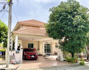 For SaleHouseNawamin, Ramindra : Urgent sale 🔥🔥 Detached house in prime location, at the beginning of Soi Watcharaphon, near the Pink Line