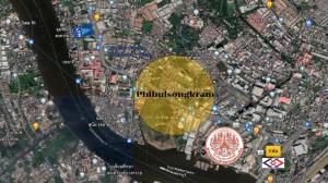 For SaleLandBang Sue, Wong Sawang : Land for sale, beautiful plot, Phibun Songkhram Road, cheap price