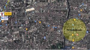 For SaleLandKasetsart, Ratchayothin : Land for sale, corner plot, next to Senanikom 1 road, cheap price !!