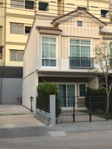 For RentTownhouseBangna, Lasalle, Bearing : Townhome for rent with furniture - Indy Bangna Ramkhamhaeng 2 - 2 bedroom house ready to move in immediately.