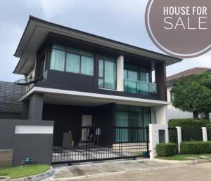 ขายบ้านพัฒนาการ ศรีนครินทร์ : House for sale at Setthasiri Krungthep kreetha Sell 9.6 Million only, Near Brighton International School