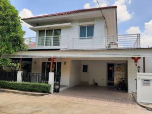 For SaleHouseBangbuathong, Sainoi : House for sale near the garden near 7-1 in the village of Perfect Park University, Bang Yai.