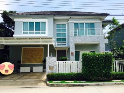 For SaleHousePattanakan, Srinakarin : House for sale, Grand Bangkok Boulevard, luxury Rama 9-Srinakarin, Krungthep Kreetha Road.