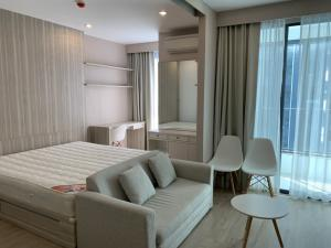 For RentCondoSiam Paragon ,Chulalongkorn,Samyan : Quick rental ideo q chula 1B, new condition, beautiful decorated room, has a washing machine. complete electrical appliances