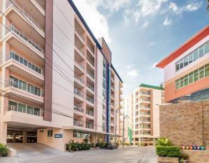For RentCondoPattaya, Bangsaen, Chonburi : Condo for rent, The Wisdom Burg Bangsaen, behind Burapha University, Map Mayom Rd.