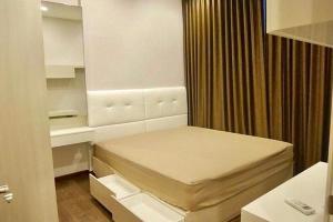 For RentCondoRama9, RCA, Petchaburi : Beautiful room, ready to move in, Q Asoke, good price, call 0619645997