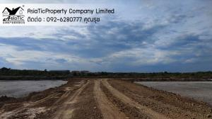 For SaleLandMahachai Samut Sakhon : sale, 28 rai of land, good location, very cheap price, only 10 minutes from Rama 2 Road.