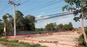 ขายที่ดินอุบลราชธานี : ขายที่ดินแปลงสวย  3-2-10 ไร่ ติดถนนใหญ่ ถนน อุบล-ตระการ ต.ไร่น้อย อุบลราชธานี