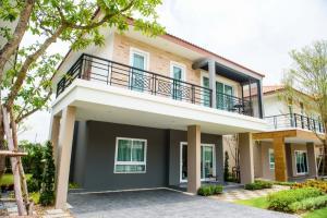 For SaleHouseSamrong, Samut Prakan : The Extenso Bangpla, luxury detached house, beautiful plot