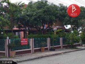 For SaleHouseChachoengsao : 2 storey detached house for sale, Vichitra Tharee, Bangna-Trad, Bang Pakong, Chachoengsao.