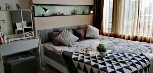 For RentCondoKasetsart, Ratchayothin : For rent, Vantage Ratchavipha, 1 bedroom, 47.69 sqm, 18,000 baht, very beautiful room, fully furnished.