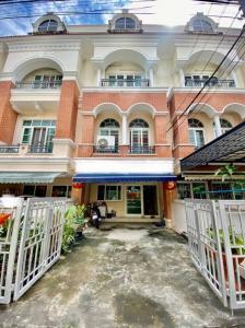 For SaleTownhouseKaset Nawamin,Ladplakao : ขายทาวน์โฮม 3 ชั้น หมู่บ้าน คาซ่า ซิตี้ นวลจันทร์ 1 พื้นที่ 23. 6 ตรวา 3 นอน 4 น้ำ 5.19ล้านบาท