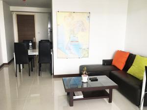 For RentCondoRama3 (Riverside),Satupadit : Condo Supalai Prima Riva @BTS Chong Nonsi, 43 sq.m 1Bed 34th floor River View, Fully furnished