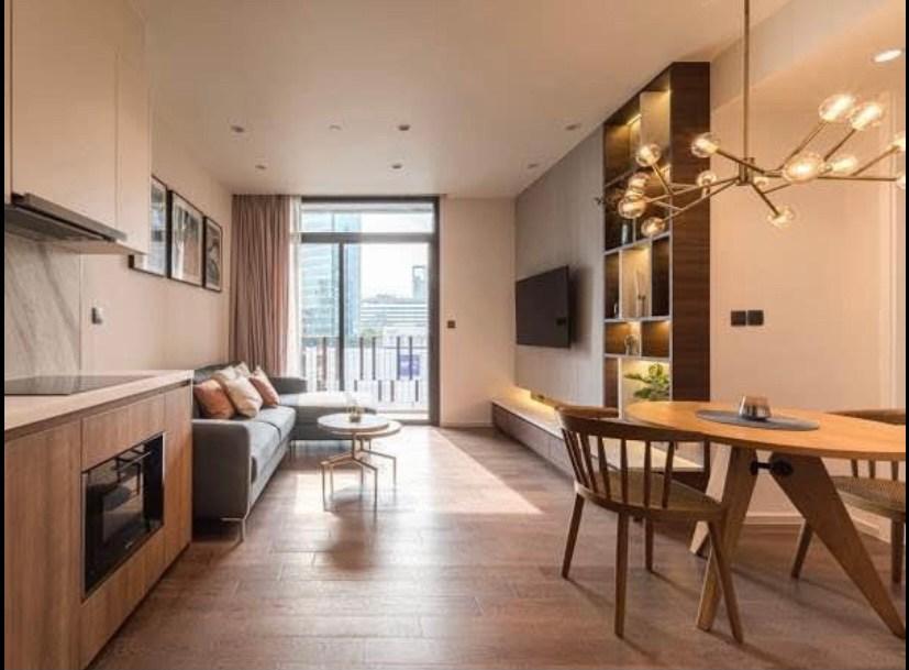 For RentCondoSukhumvit, Asoke, Thonglor : +++ Urgent rent+++ Muniq Sukhumvit 26** 2 bedrooms, size 65.5 sq.m., fully furnished, ready to move in.