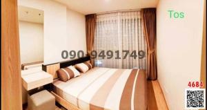 For RentCondoBangna, Lasalle, Bearing : Condo for rent, Ideo O2, beautiful room, cheap price, Bangna intersection, BTS Bangna