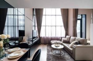 เช่าคอนโดสาทร นราธิวาส : 🔥🔥🔥For Rent KnightsBridge Prime Sathorn 🏢🏬Duplex ONE Bed ตกแต่งสวย✨ @JST Property.
