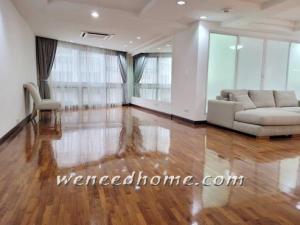 For SaleCondoSukhumvit, Asoke, Thonglor : Sale President Park 223 sqm 3BR high floor with River view 2 fixed Sukhumvit 24