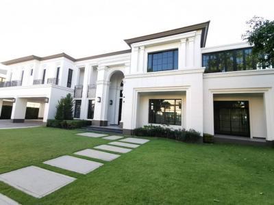 ขายบ้านพัฒนาการ ศรีนครินทร์ : Baan Sansiri Pattanakarn 5bed 5bath 232 Sq wah 145,000,000 Am: 0656199198