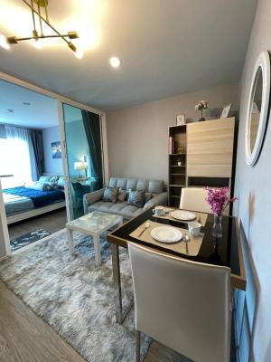 For SaleCondoVipawadee, Don Mueang, Lak Si : New condo for sale Reach Phaholyothin 52 extra large room Spacious room, ready to move in. City view.