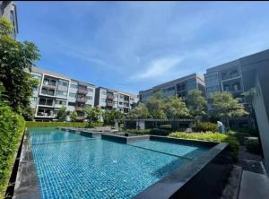 Sale DownCondoBangna, Lasalle, Bearing : 💥 Direct installment condo, no bank loan required 💥 Weir Seven Bangna Garden Soi Bangna, Building C facing north