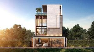 For SaleHouseKaset Nawamin,Ladplakao : POJ 307 Sale The Primary V Kaset-Nawamin. Super LUXURY 4-storey detached house with elevator in the house. with swimming pool, fully furnished