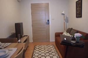 For RentCondoKasetsart, Ratchayothin : 2584 Condo for rent, D-mura, near Kasetsart University, fully furnished, ready to move in, cheap price