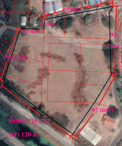 For SaleLandKhon Kaen : Land for sale, 10 rai 2 ngan, next to Thung Sang swamp